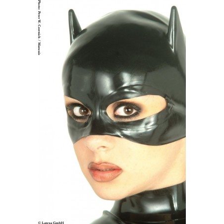 Masque catwoman latex