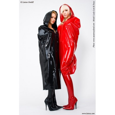 Cape bondage latex